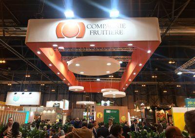 Compagnie Fruitiere letrero