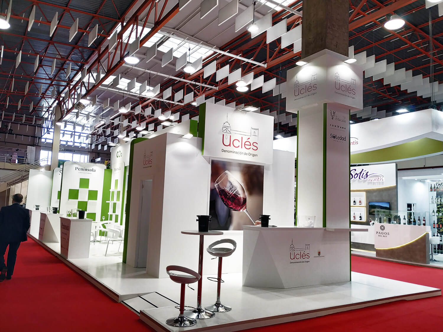 Uclés stand