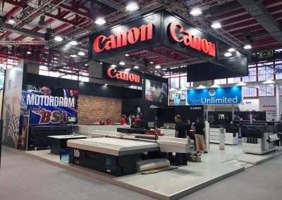 Diseño de stands Canon