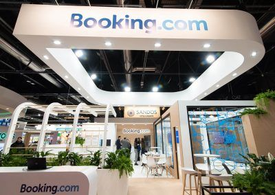 Booking.com Stand